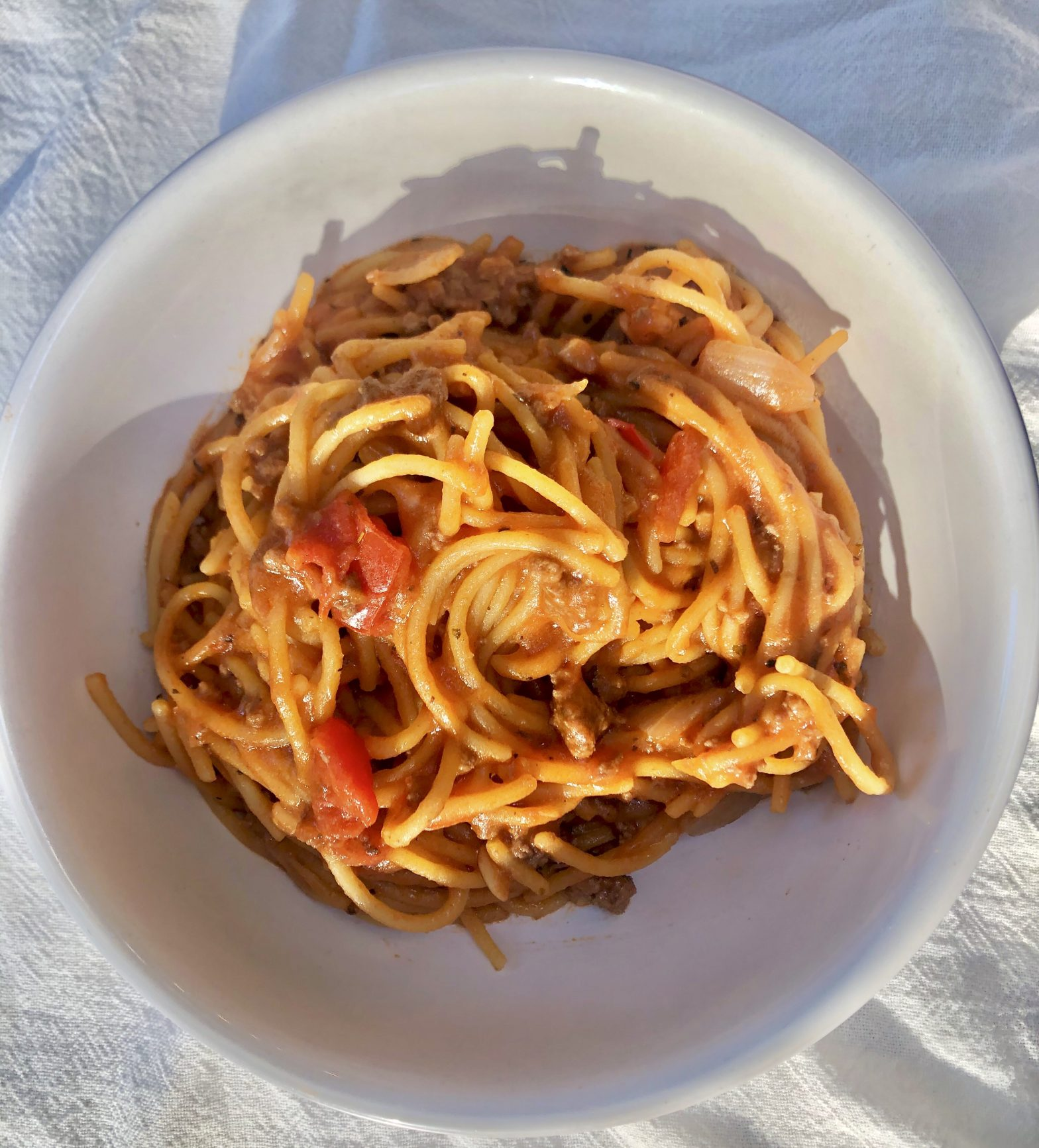 Healthy Semi-Homemade Spaghetti