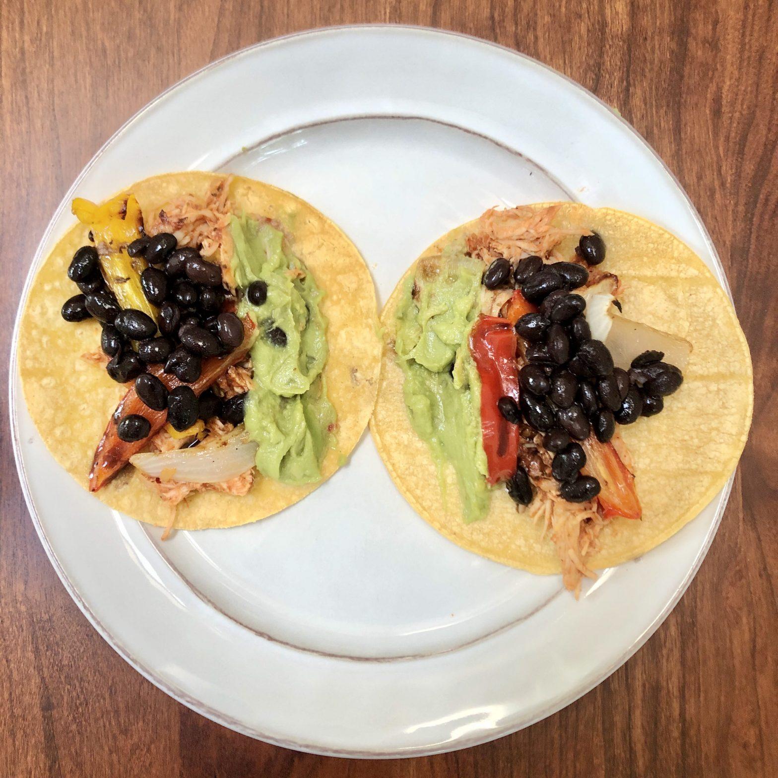 Salsa Chicken Taco Tuesday